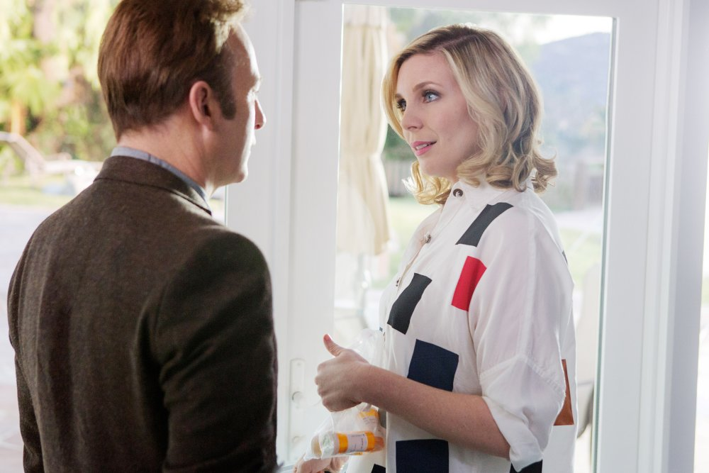 GIRLFRIEND'S DAY, FROM LEFT: BOB ODENKIRK, JUNE DIANE RAPHAEL, 2017. PH: ROBB ROSENFELD/© NETFLIX