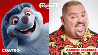 FERDINAND, GABRIEL IGLESIAS, VOICE OF CUATRO, 2017. TM AND COPYRIGHT ©20TH CENTURY FOX FILM CORP. ALL RIGHTS RESERVED