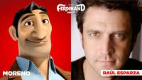 FERDINAND, RAUL ESPARZA, VOICE OF MORENO, 2017. TM AND COPYRIGHT ©20TH CENTURY FOX FILM CORP. ALL RIGHTS RESERVED