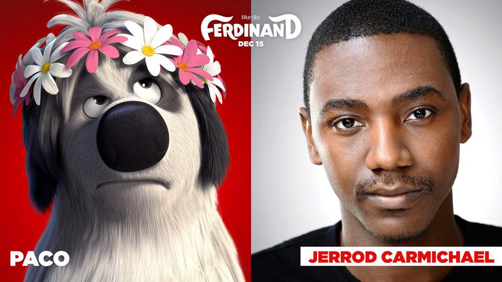 FERDINAND, JERROD CARMICHAEL, VOICE OF PACO, 2017. TM AND COPYRIGHT ©20TH CENTURY FOX FILM CORP. ALL RIGHTS RESERVED