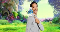 SMURFS: THE LOST VILLAGE, DANNY PUDI, AS THE VOICE OF BRAINY, 2017. PH: TRAE PATTON/© COLUMBIA PICTURES
