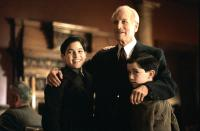 ROAD TO PERDITION, Tyler Hoechlin, Paul Newman, Liam Aiken, 2002, (c) DreamWorks