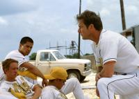 THE ROOKIE, Chad Lindberg, Jay Hernandez, Dennis Quaid, 2002 (c) Walt Disney. .