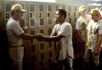 THE ROOKIE, Dennis Quaid, Jay Hernandez, 2002 (c) Walt Disney. .