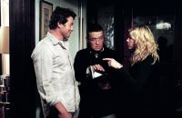 THE RING TWO, Simon Baker, director Hideo Nakata, Naomi Watts on set, 2005, (c) DreamWorks