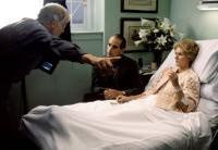 REVERSAL OF FORTUNE, director Barbet Schroeder, Jeremy Irons, Glenn Close on set, 1990, (c) Warner Brothers