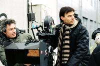 ANGEL, (aka THE REAL LIFE OF ANGEL DEVERELL), director Francois Ozon (right), on set, 2007. ©IFC Films