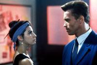 RED HEAT, Gina Gershon, Arnold Schwarzenegger, 1988, (c) TriStar