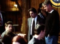 THE RECRUIT, Colin Farrell, Al Pacino, director Roger Donaldson on the set, 2003, (c) Walt Disney