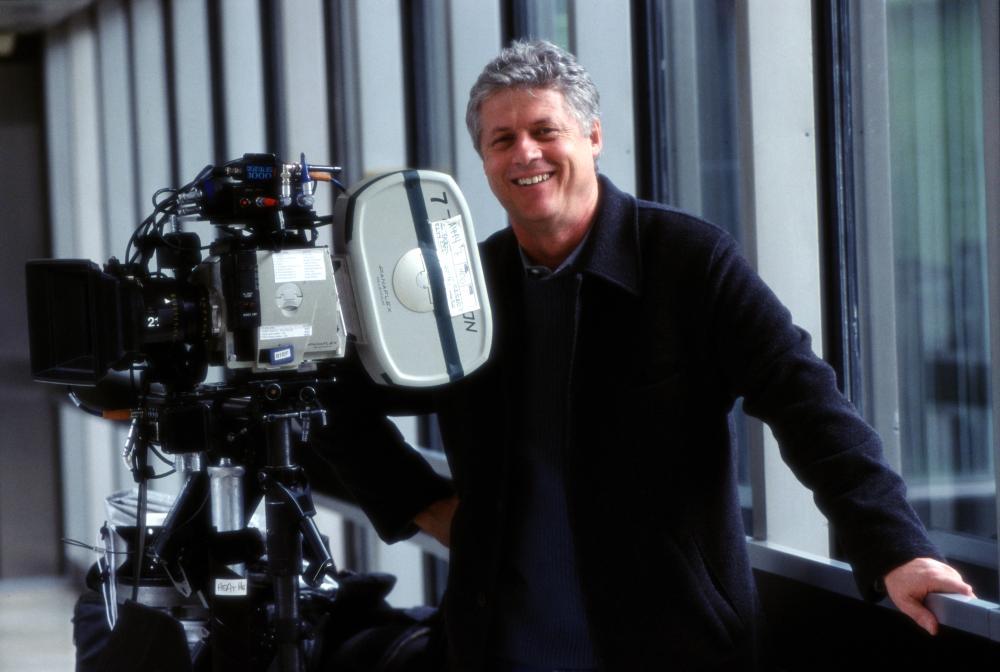 THE RECRUIT, Director Roger Donaldson on the set, 2003, (c) Walt Disney