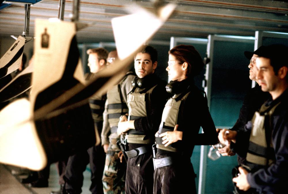 THE RECRUIT, Colin Farrell, Bridget Moynahan, 2003, (c) Walt Disney
