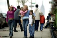 RAISING HELEN, Hayden Panettiere, Abigail Breslin, Kate Hudson, Spencer Breslin, 2004, (c) Buena Vista