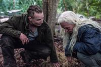 THE SURVIVALIST, FROM LEFT: MARTIN MCCANN, OLWEN FOUERE, 2015. PH: HELEN SLOAN/© IFC MIDNIGHT