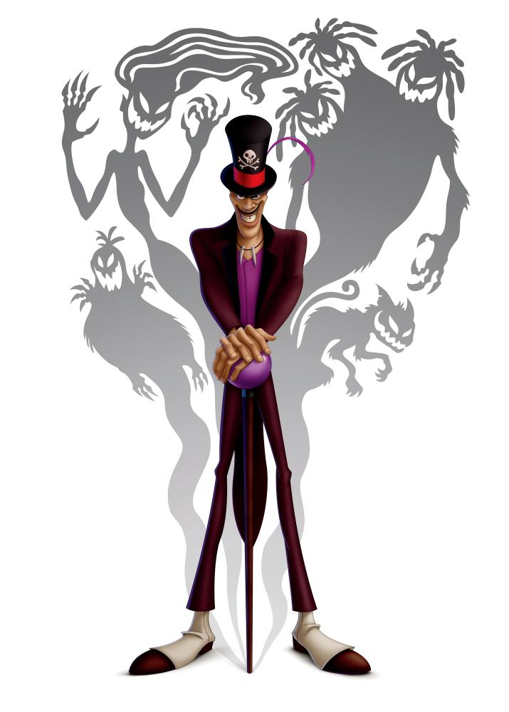 THE PRINCESS AND THE FROG, Dr. Facilier (voice: Keith David), 2009. ©Walt Disney Co.