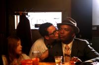 THE POKER HOUSE, from left: Chloe Moretz, director Lori Petty, writer David Alan Grier, on set, 2008. ©Phase 4 Films
