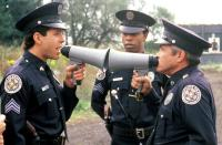 POLICE ACADEMY 4: CITIZENS ON PATROL, Steve Guttenberg, Michael Winslow, G.W. Bailey, 1987, (c) Warner Brothers