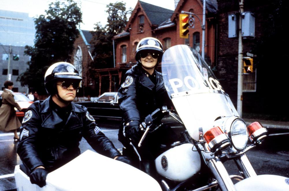 POLICE ACADEMY 4: CITIZENS ON PATROL, David Graf, Billie Bird, 1987, (c) Warner Brothers