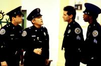 POLICE ACADEMY 4: CITIZENS ON PATROL, Lance Kinsey, G.W. Bailey, Steve Guttenberg, Michael Winslow, 1987, (c) Warner Brothers
