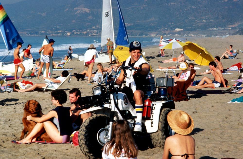 POLICE ACADEMY, Steve Guttenberg, 1984, (c) Warner Brothers