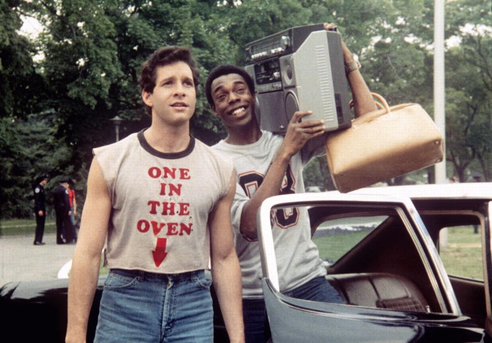 POLICE ACADEMY, Steve Guttenberg, Michael Winslow, 1984, (c) Warner Brothers