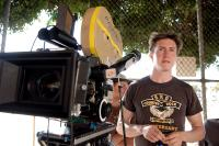PINEAPPLE EXPRESS, director David Gordon Green, on set, 2008. ©Columbia Pictures