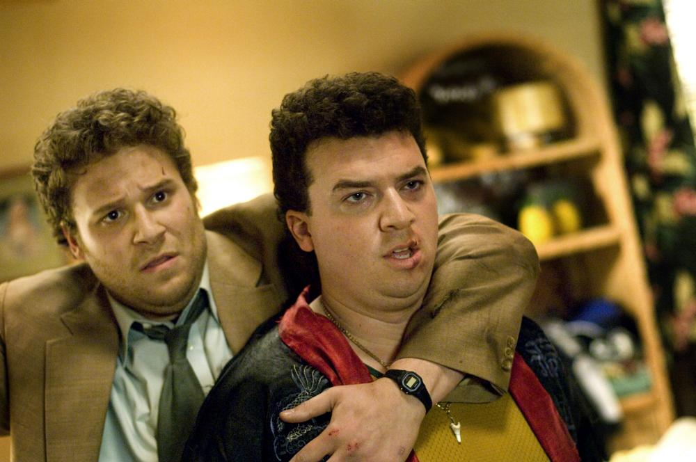 PINEAPPLE EXPRESS, from left: Seth Rogen, Danny McBride, 2008. ©Columbia Pictures