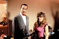 PEE WEE'S BIG ADVENTURE, Pee Wee Herman, Elizabeth Daily, 1985, (c) Warner Brothers