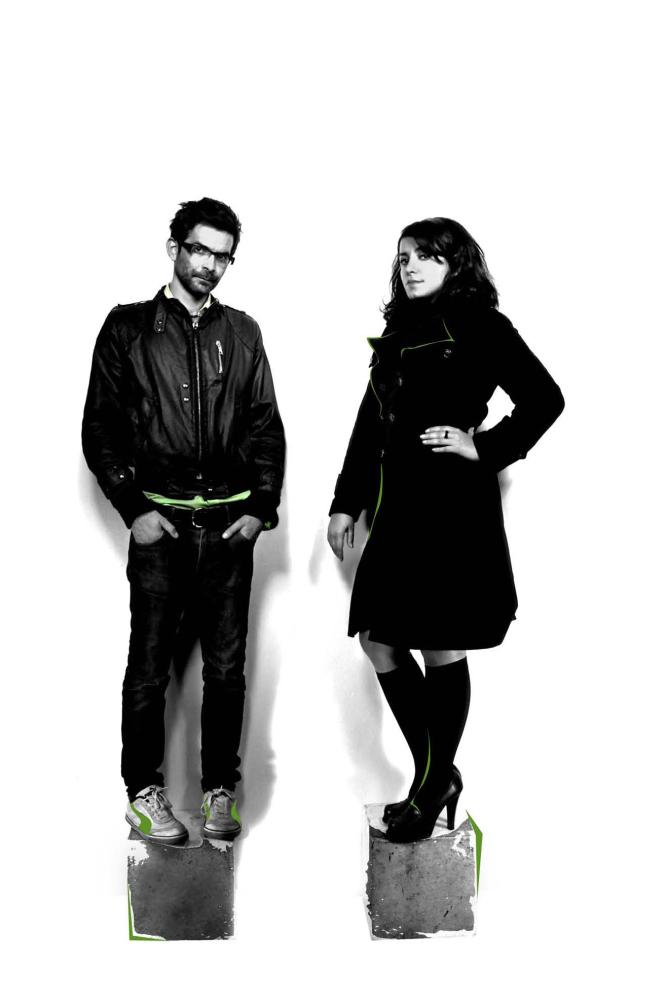 PERSEPOLIS, directors and writers Vincent Paronnaud, Marjane Satrapi, 2007. ©Sony Pictures Classics