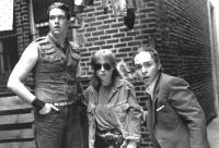 PENN & TELLER GET KILLED, from left: Penn Jillette, Caitlin Clarke, Teller, 1989, © Warner Brothers