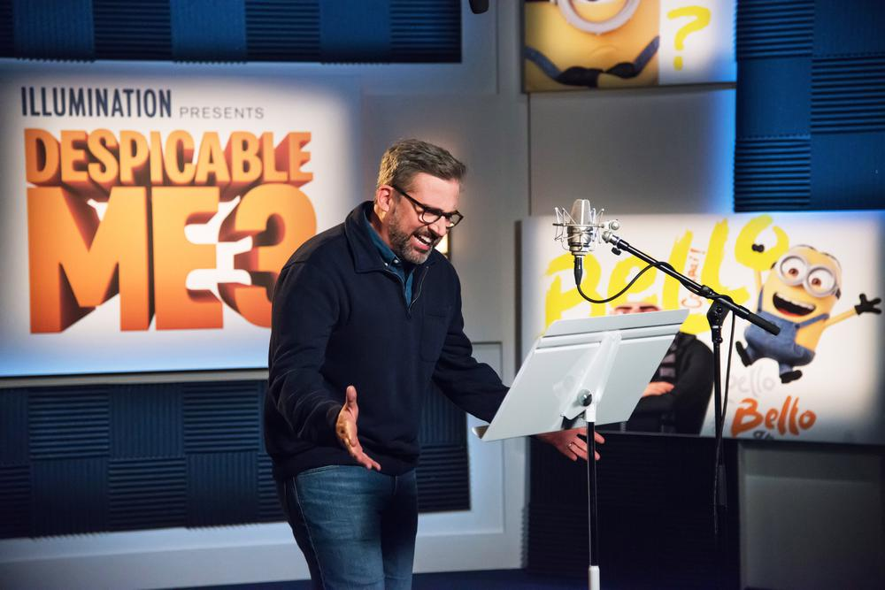 DESPICABLE ME 3, STEVE CARELL, VOICE OF GRU, 2017. PH: SUZANNE HANOVER/©UNIVERSAL PICTURES