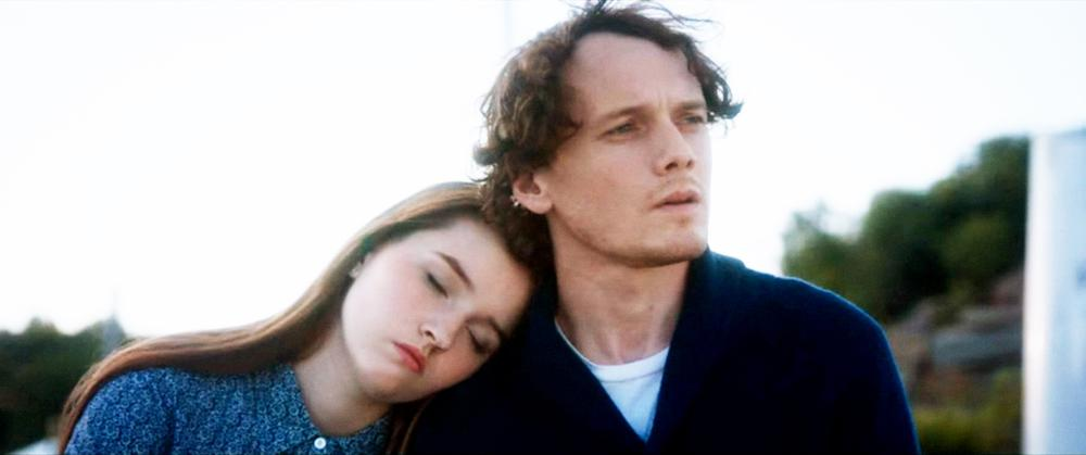 WE DON'T BELONG HERE, FROM LEFT, KAITLYN DEVER, ANTON YELCHIN, 2017. ©SONY PICTURES HOME ENTERTAINMENT