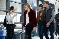 WISH UPON,  FROM LEFT, JOEY KING, JOSEPHINE LANGFORD, DANIELA BARBOSA, MITCHELL SLAGGERT, 2017. PH: STEVE WILKIE. ©BROAD GREEN PICTURES