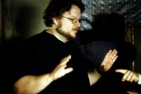 PAN'S LABYRINTH, (aka EL LABERINTO DEL FAUNO), director Guillermo del Toro, on set, 2006, ©Picturehouse