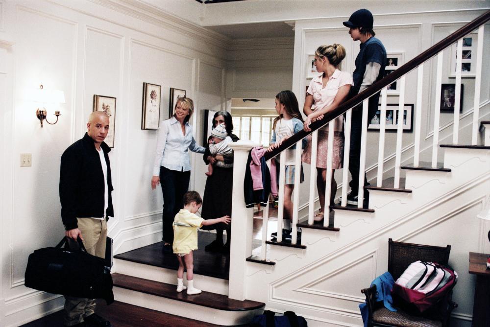 THE PACIFIER, Vin Diesel, Faith Ford, Logan/Keegan Hoover, Carol Kane, Luke/Bo Vink, Morgan York, Brittany Snow, Max Thieriot, 2005, (c) Walt Disney