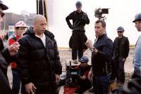 THE PACIFIER, Vin Diesel, director Adam Shankman on set, 2005, (c)