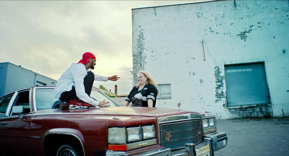 PATTI CAKE$, (AKA PATTI CAKES), FROM LEFT: SIDDHARTH DHANANJAY, DANIELLE MACDONALD, 2017. TM & COPYRIGHT © FOX SEARCHLIGHT PICTURES. ALL RIGHTS RESERVED.