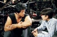 OVER THE TOP, Sylvester Stallone, David Mendenhall, 1987, (c) Warner Brothers