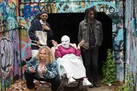 PATTI CAKE$, (AKA PATTI CAKES), FROM LEFT: DANIELLE MACDONALD (FRONT), SIDDHARTH DHANANJAY, CATHY MORIARTY, MAMOUDOU ATHIE, 2017. PH: JEONG PARK/TM & COPYRIGHT © FOX SEARCHLIGHT PICTURES. ALL RIGHTS RESERVED.