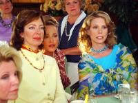 OUR VERY OWN, foreground: Allison Janney (second from left), Allison Mackie, Cheryl Hines (far right), 2005. ©Miramax