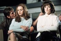 THE OUTSIDERS, from left: Matt Dillon, Diane Lane, Michelle Meyrink, 1983, © Warner Brothers