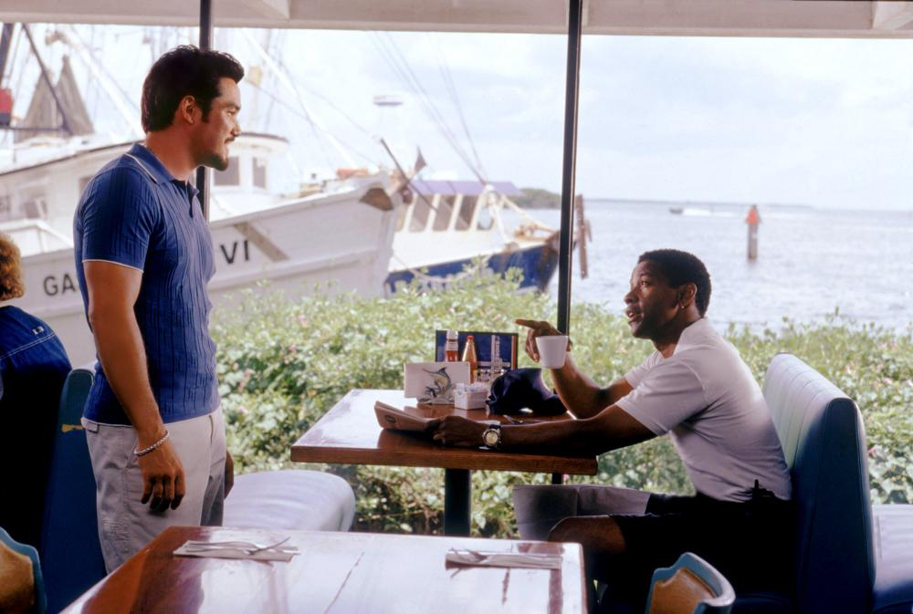 OUT OF TIME, Dean Cain, Denzel Washington, 2003, (c) MGM
