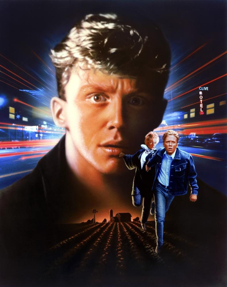 OUT OF BOUNDS, Anthony Michael Hall, Jenny Wright, 1986, (c) Columbia