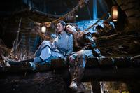 LEGEND OF THE NAGA PEARLS, FROM LEFT: ZHANG TIANAI, DARREN WANG, 2017. © WELL GO USA ENTERTAINMENT
