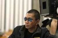 ONE MISSED CALL, (aka CHAKUSHIN ARI, aka YOU'VE GOT A CALL), director Takashi Miike, on set, 2003, ©Media Blasters