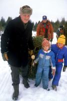 ONE MAGIC CHRISTMAS, Arthur Hill, Gary Basaraba, Elisabeth Harnois, Robbie Magwood, 1985