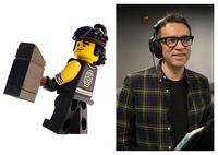 THE LEGO NINJAGO MOVIE, FRED ARMISEN, VOICE OF COLE, 2017. PH: ERIC CHARBONNEAU. ©WARNER BROS.