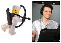 THE LEGO NINJAGO MOVIE, ZACH WOODS, VOICE OF ZANE, 2017. PH: JOHN SCIULLI. ©WARNER BROS.