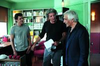 THE ONE I LOVE, (aka CELLE QUE J'AIME), from left: Marc Lavoine, director Elie Chouraqui, Gerard Darmon, on set, 2009. ©Mars Distribution