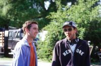 OLD SCHOOL, Luke Wilson, director Todd Phillips on the set, 2003, (c) DreamWorks