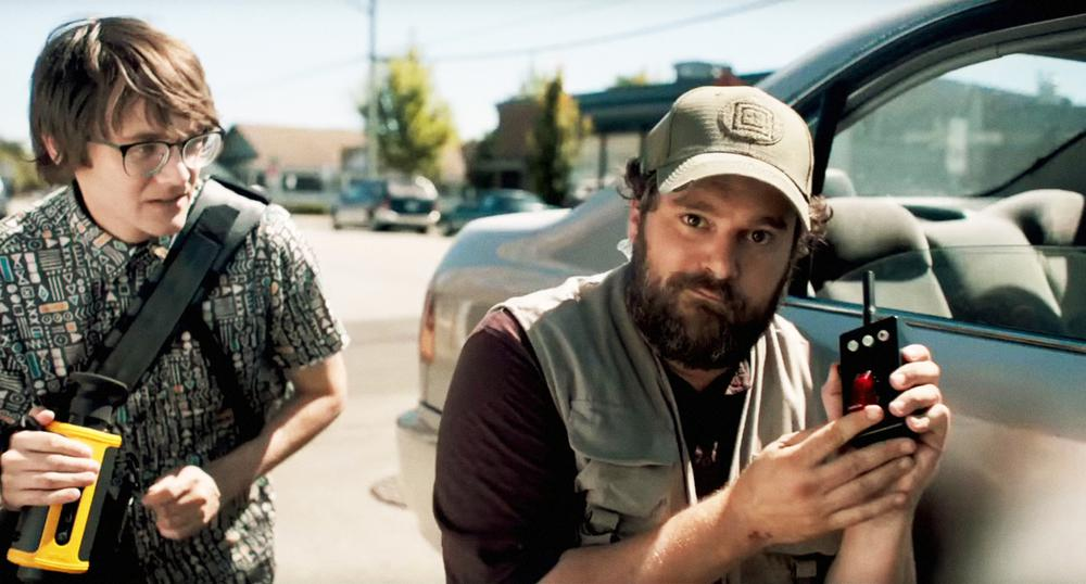 KILLING GUNTHER, FROM LEFT, PAUL BRITTAIN, BOBBY MOYNIHAN, 2017. ©SABAN FILMS